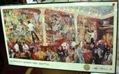 LEROY NEIMAN Poster FX MCROYS WHISKEY BAR
